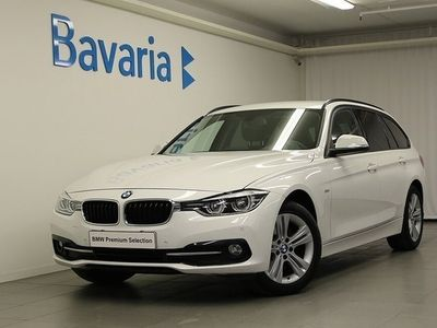 begagnad BMW 320 d xDrive Touring Sport Line Tonade rutor Aut
