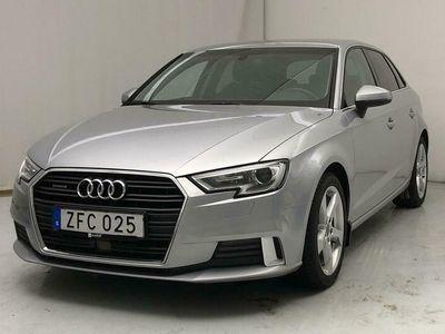 begagnad Audi A3 Sportback 2.0 TDI quattro (184hk)