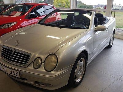 begagnad Mercedes CLK200 Kompressor Cabriolet Automat 163hk