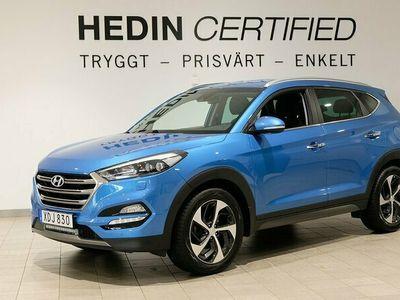 begagnad Hyundai Tucson 1.6 | 4WD | B-Kamera | Navi | 177hk