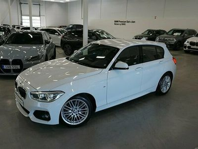 "begagnad BMW 118 i LCI M-Sport Läder LED Rattvärme 17"""