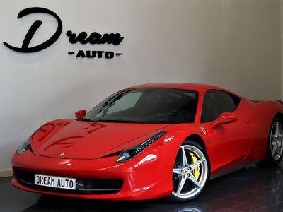 begagnad Ferrari 458 ITALIA F1 ROSSO FRÅN 7500KR