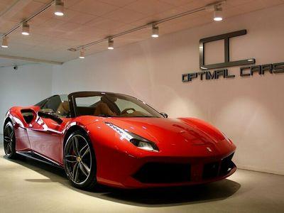 begagnad Ferrari 488 Spider 670HK Carbon Rosso-Corsa Se Spec*