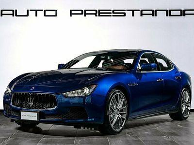 begagnad Maserati Ghibli S Q4 SQ4 410hk / Svensksåld / Nybilsgaranti