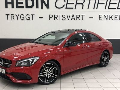 begagnad Mercedes CLA200 AMG Panorama Nightpackage