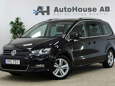 begagnad VW Sharan 2.0 TDI 184HK 4M Premium 7-sits Värmare