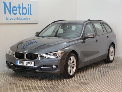 begagnad BMW 320 d Touring Sportline 184hk Drag / 1 Ägare