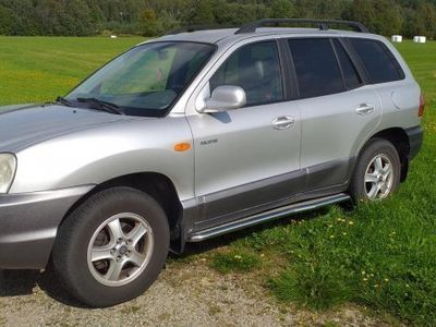 begagnad Hyundai Santa Fe GLS Ex -02