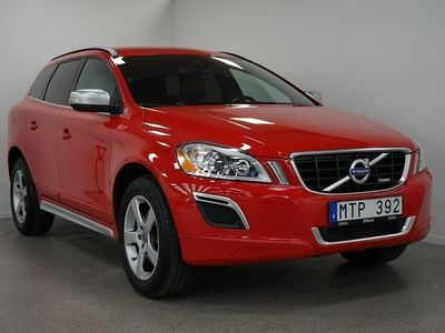 begagnad Volvo XC60 D4 163 AWD R-Design DE VOC Dragkrok Navigation 2013, SUV 214 500 kr