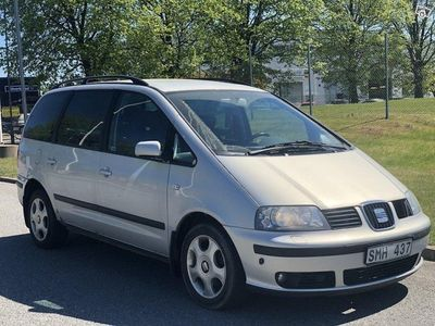 begagnad Seat Alhambra 1.8 T Automat 7-sits -01