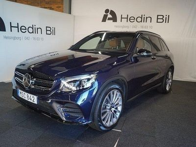 begagnad Mercedes GLC350 D AMG-Line /Dragkrok/