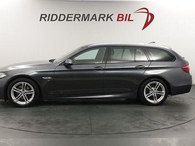 begagnad BMW 520 d xDrive Touring M Sport Skinn Vinter Navi Drag