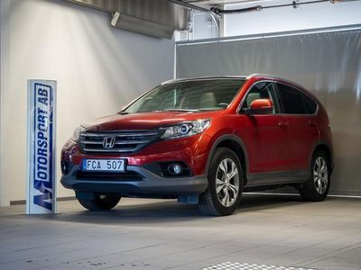 begagnad Honda CR-V 2,2 i-DTEC Executive Navi Aut