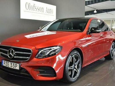 begagnad Mercedes E300 Sedan AMG Premium Plus Panorama Drag