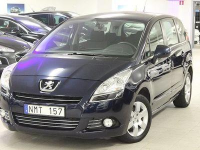 begagnad Peugeot 5008 Komfort 1,6 HDI 7-Sits 2011, Kombi 124 800 kr