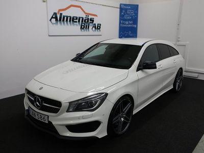 begagnad Mercedes CLA220 Shooting Brake d 7G-DCT AMG /Navi