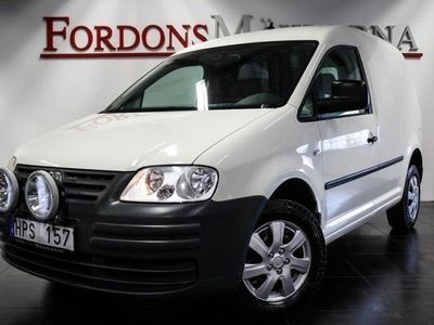 begagnad VW Caddy 1,9 TDI SKÅP 4MOTION LEASBAR
