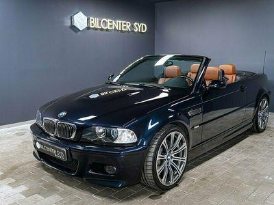 begagnad BMW M3 Cabriolet. H/K .Navi E46 (343hk)