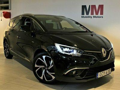 begagnad Renault Grand Scénic 1.3 TCe EDC Euro 6 7-sits 140hk / BOSE / SKINN