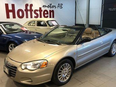 begagnad Chrysler Sebring Cabriolet 2.7 V6 Automat 2004, Cab 54 900 kr
