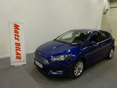 begagnad Ford Focus 1,0 EcoBoost 125 Titanium 5d