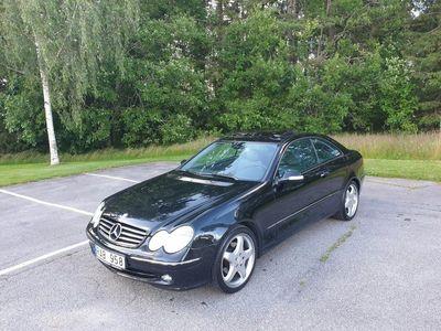begagnad Mercedes CLK320 avangard aut