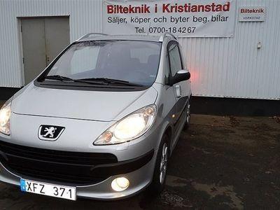 begagnad Peugeot 1007 1,4 Ny Bes U.A,Lågmiltal,Ny Servad,