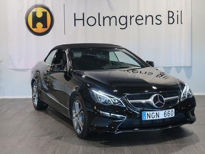 begagnad Mercedes E250 Cabriolet 7G (211hk) Nav