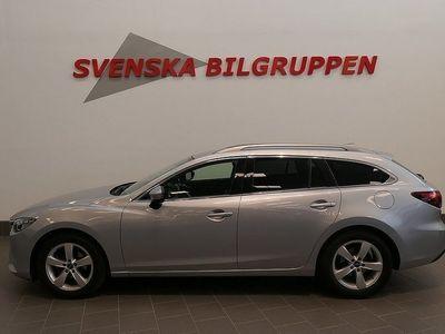 begagnad Mazda 6 2.2 AWD 175hk Aut Nav Optimum LM S+V-Hjul
