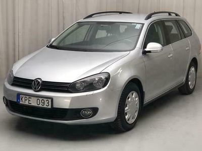 begagnad VW Golf VI 1.6 MultiFuel E85 Variant