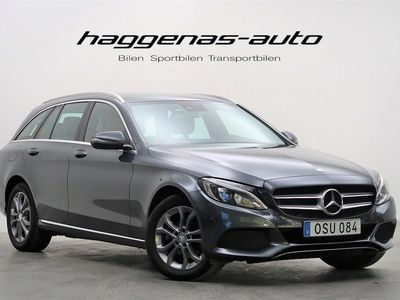 begagnad Mercedes C220 d / 4MATIC / 7G-Tronic