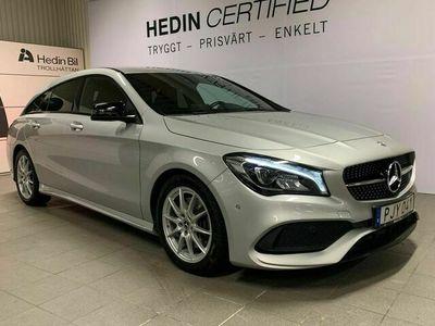 begagnad Mercedes CLA220 - BenzD AMG / Nightpackage / Vinterhjul