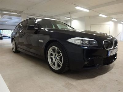 begagnad BMW 525 D xDrive M-sport Drag/Navi/Panorama