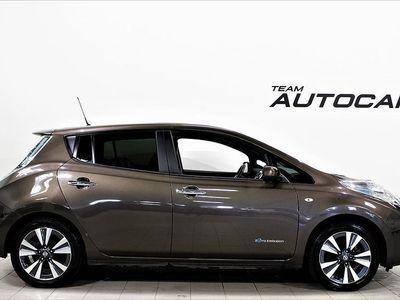 begagnad Nissan Leaf 30kwh TEKNA GPS BACKKAMERA SKINN
