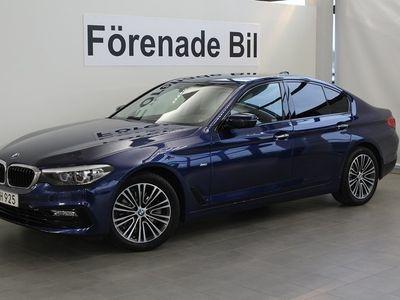 begagnad BMW 520 i Sportline Aut Navi Dragkrok