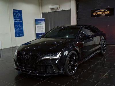 begagnad Audi RS7 Sportback 4.0 TFSI V8 Black Edition Kolfiber 560hk