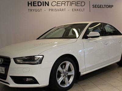 begagnad Audi A4 2,0 TDI 150HK SPORT EDITION S+V-HJUL