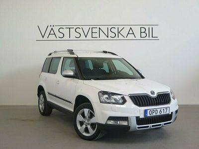 begagnad Skoda Yeti Outdoor 2.0 TDI 4x4 Automat Navi Drag 2014, Halvkombi Pris 142 000 kr