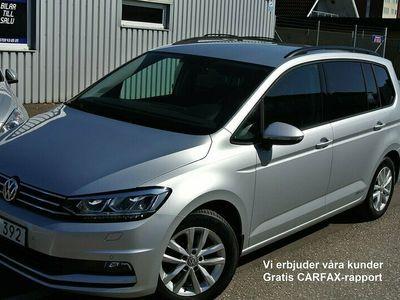 begagnad VW Touran 1.2 TSI Pluspaket & Dragpaket 7-sits