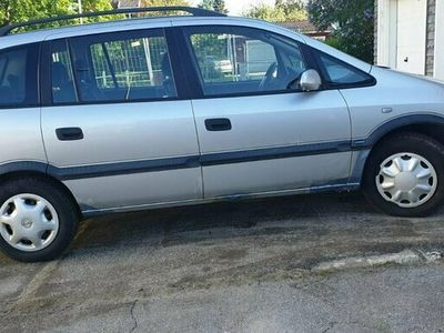 begagnad Opel Zafira 1.8 Manuell, 125hk, 7st nybesikta