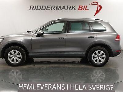 begagnad VW Touareg 3.0 V6 TDI 4M Premium D-Värm Drag 2014, SUV 189 700 kr