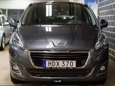 begagnad Peugeot 5008 1.6 BlueHDi