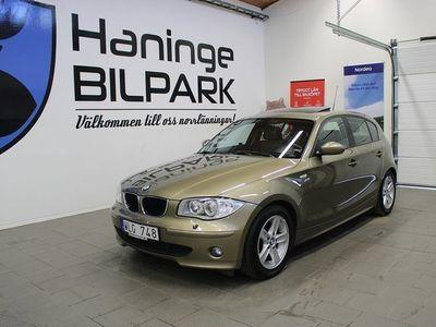 begagnad BMW 120 i Steptronic Advantage 150hk / AUTOMA -05
