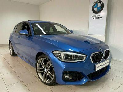 begagnad BMW 118 i 5D M-Sport / HarmanK / Taklucka / 18 tum / Läder