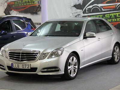 begagnad Mercedes E220 CDI BLUEEFFICIENCY AUTOMAT DRAG NY BESIKTAD NY SERVAD