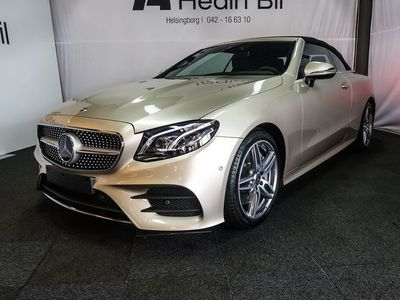 begagnad Mercedes E300 CABRIOLET AMG SPORTPAKET DEMO