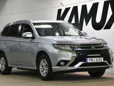 begagnad Mitsubishi Outlander P-HEV 2.0 Hybrid | 4WD | Drag | 2017, SUV 244 800 kr