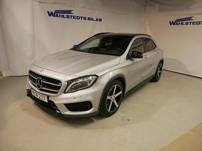 begagnad Mercedes GLA220 7G DCT 177hk 4-matic AMG-Line Panorama