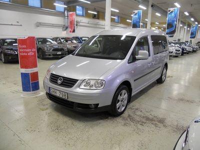 begagnad VW Caddy Maxi Life 1.9TDI 7-sits Auto Drag 105hk