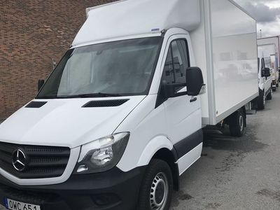 begagnad Mercedes Sprinter 316 CDI R3 PÅBYGGT SKÅP